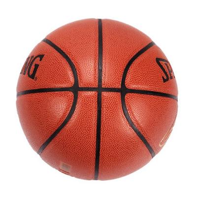 斯伯丁库里签名PU篮球高清图片