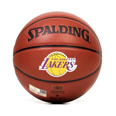 斯伯丁NBA湖人队PU篮球