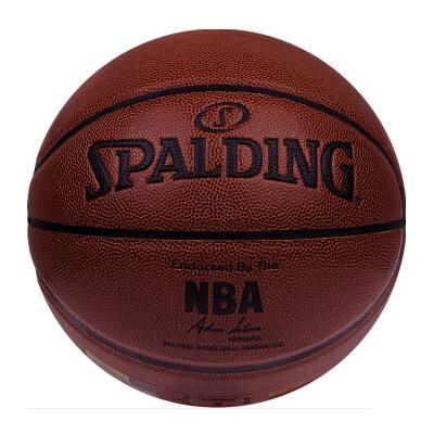 斯伯丁NBA Logo铂金PU篮球高清图片
