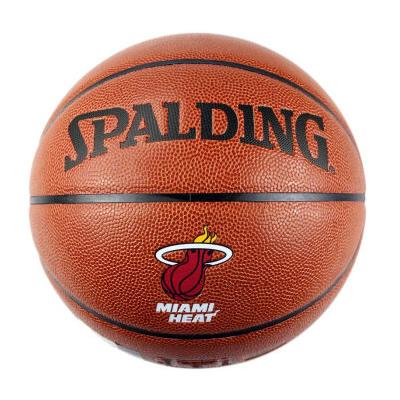 斯伯丁NBA热火队PU篮球