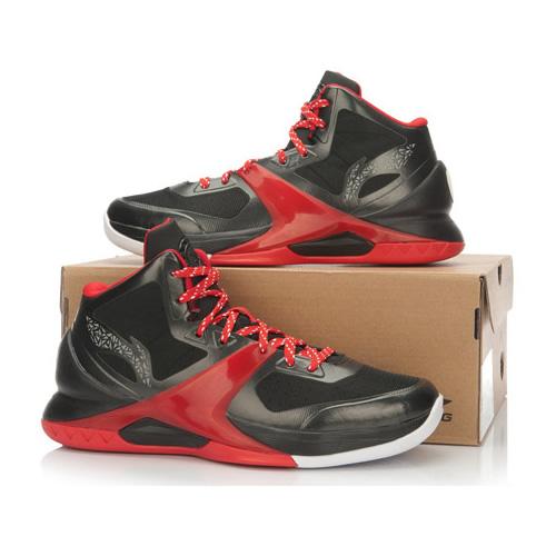 李宁韦德第六人男子高帮篮球鞋图4高清图片