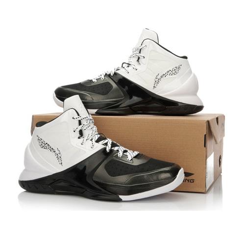 李宁韦德第六人男子高帮篮球鞋图1高清图片