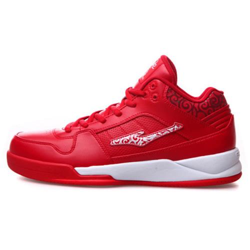 鸿星尔克11113404349缓震训练篮球鞋
