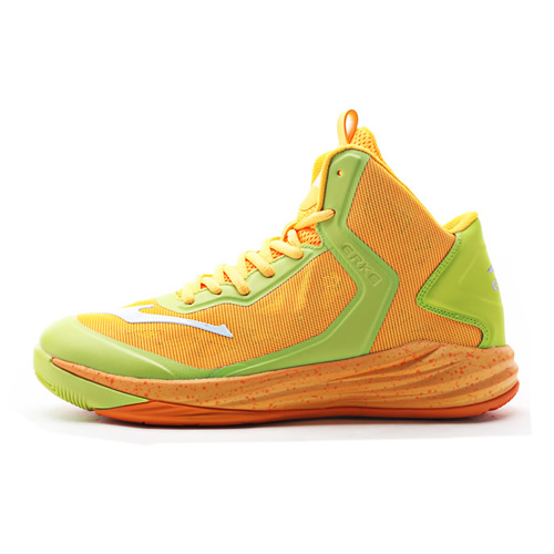 鸿星尔克51116204079高帮气垫篮球鞋