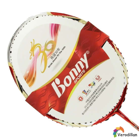 [图文]波力(Bonny)羽毛球拍实战测评