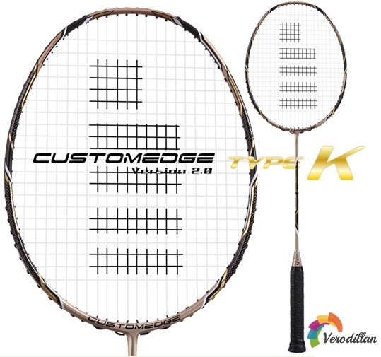 高神CUSTOMEDGE TYPE K羽毛球拍性能深度解析