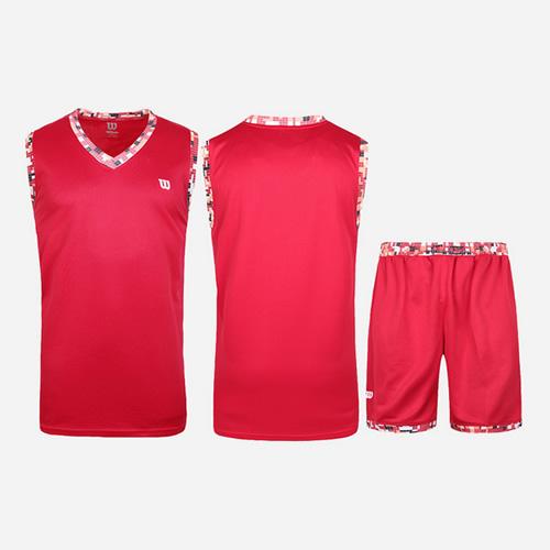 威尔胜吸汗透气无袖篮球服套装图4高清图片