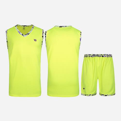 威尔胜吸汗透气无袖篮球服套装图3高清图片