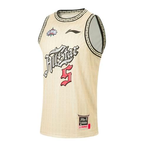 李宁时尚简洁男子篮球服套装图1高清图片