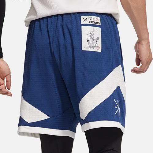 李宁速干凉爽男子篮球裤图3高清图片