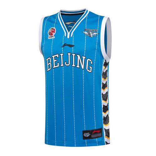 李宁北京队吸湿排汗男子篮球服