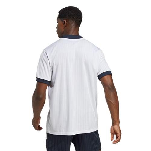 阿迪达斯皇马男子白色无袖足球服图2高清图片