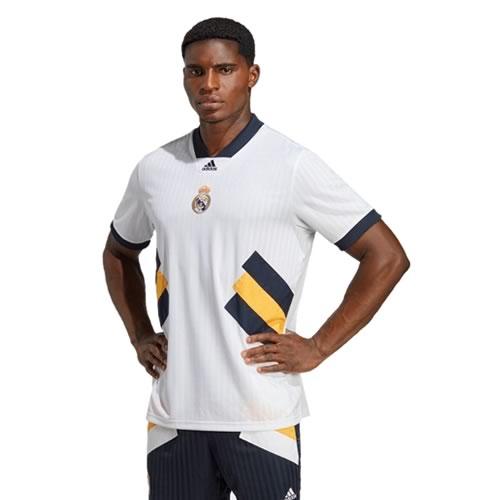 阿迪达斯皇马男子白色无袖足球服图1高清图片