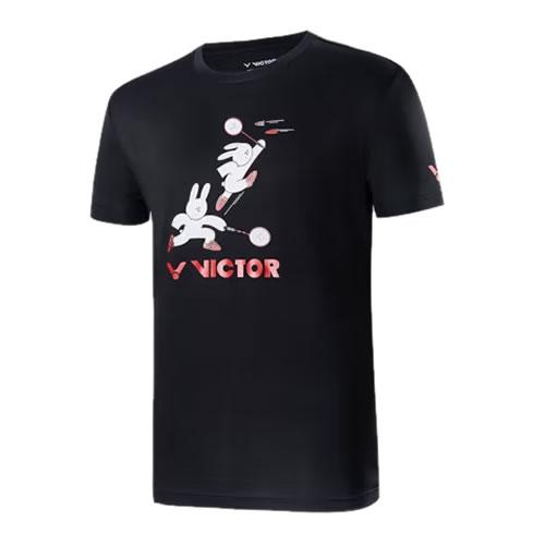 胜利T-75003羽毛球针织T恤