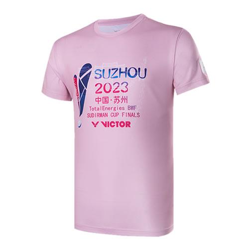 胜利T-76002羽毛球针织T恤