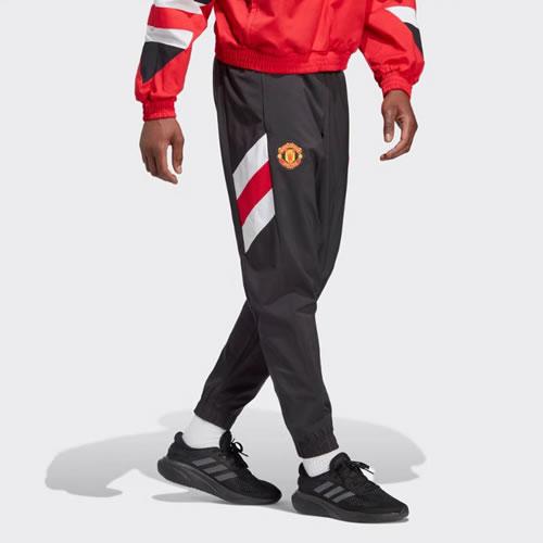 阿迪达斯曼联客场比赛男子足球短裤