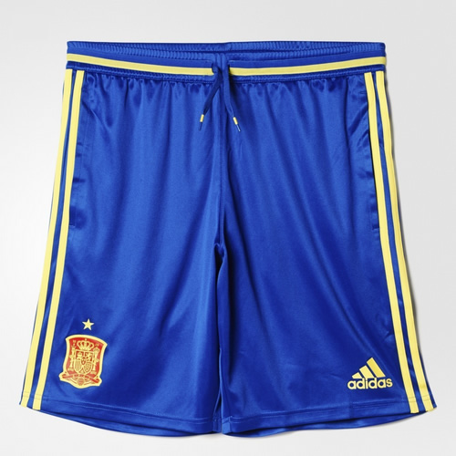 阿迪达斯西班牙男子足球训练短裤