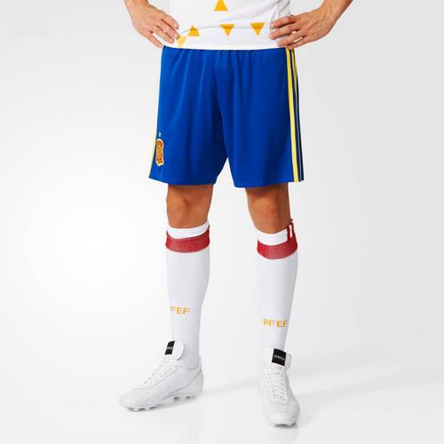 阿迪达斯西班牙主场男子足球比赛短裤