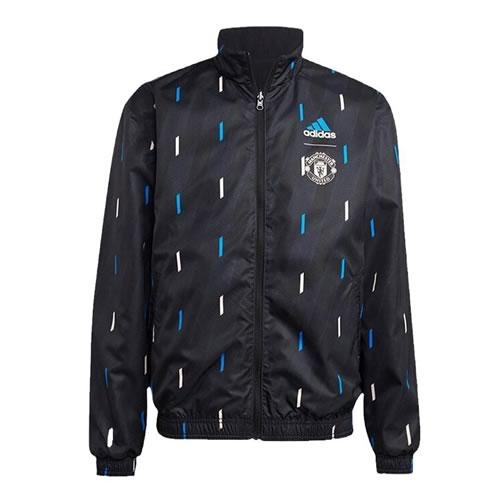 阿迪达斯曼联天然红男子短袖足球服图1高清图片