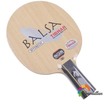 挺拔巴沙BALSA乒乓底板实战测评