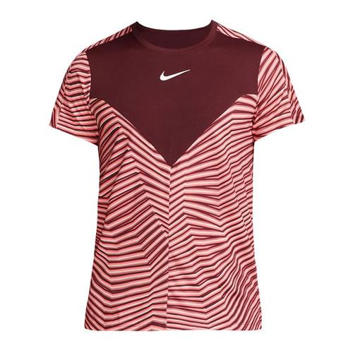 耐克Court Dry Advantage男子网球T恤图1高清图片