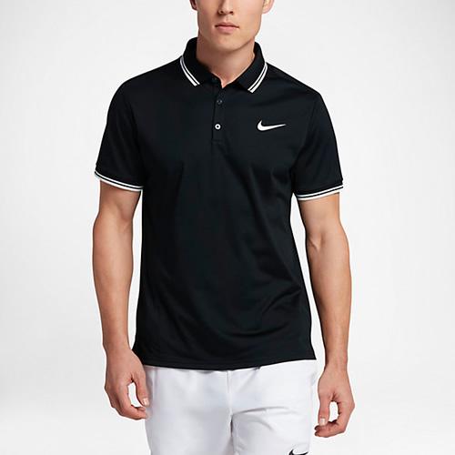 耐克Court男子网球翻领T恤图2高清图片