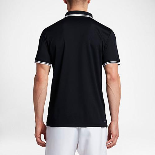 耐克Court男子网球翻领T恤图1高清图片