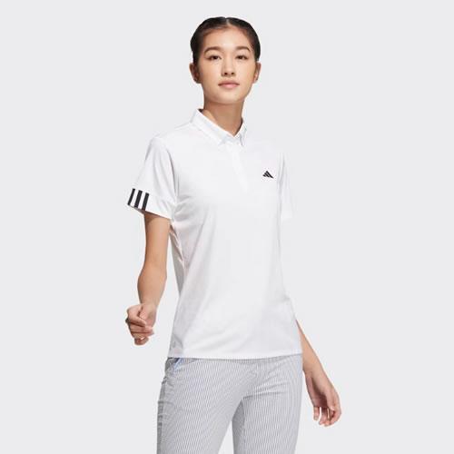 阿迪达斯BC6827男子高尔夫短袖Polo衫
