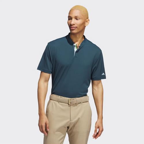 阿迪达斯BC5586男子高尔夫短袖Polo衫