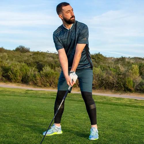 阿迪达斯BC7095男子高尔夫短袖Polo衫