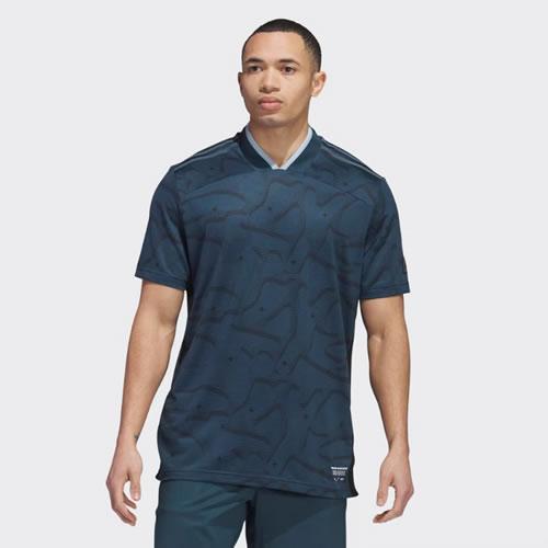 阿迪达斯BC7095男子高尔夫短袖Polo衫图2高清图片
