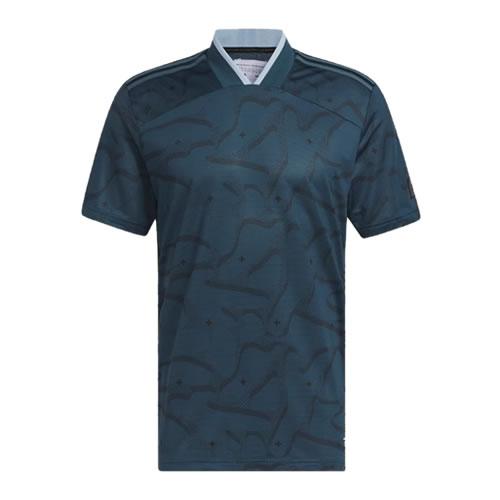 阿迪达斯BC7095男子高尔夫短袖Polo衫图1高清图片