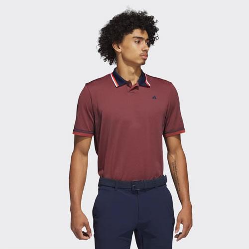 阿迪达斯BC7093男子高尔夫短袖Polo衫
