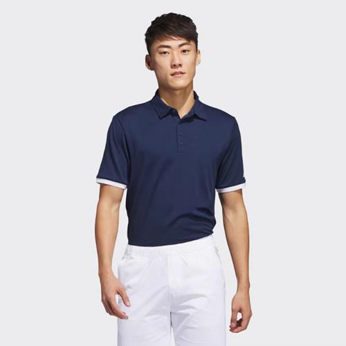 阿迪达斯BC7090男子高尔夫短袖Polo衫图2高清图片