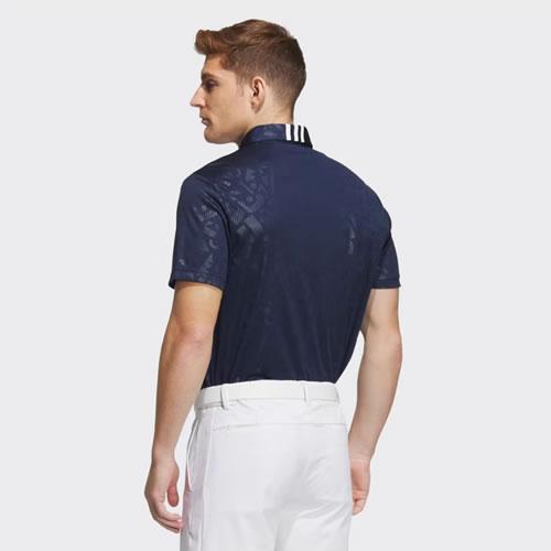 阿迪达斯BC3141男子高尔夫短袖Polo衫