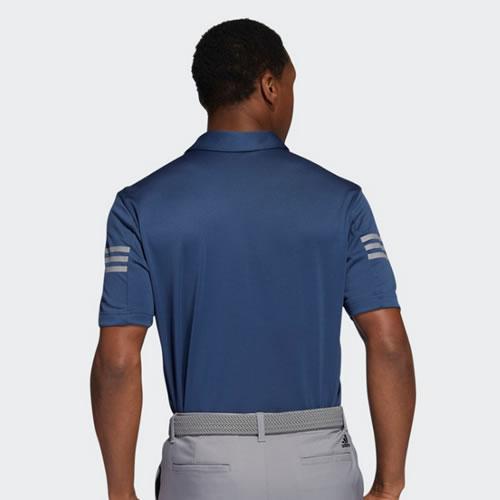 阿迪达斯BC5634男子高尔夫短袖Polo衫