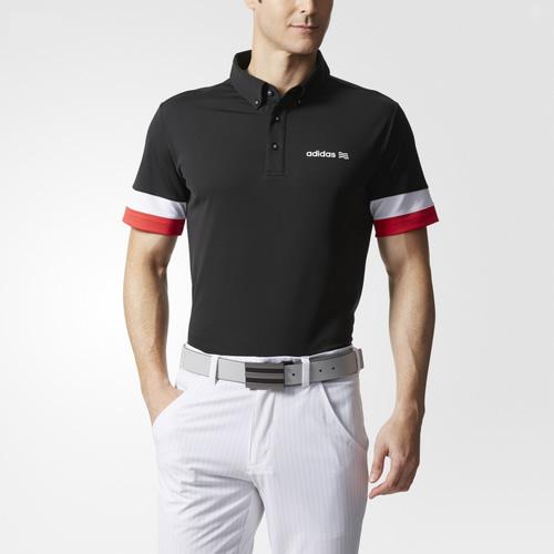 阿迪达斯BC3145男子高尔夫短袖Polo衫