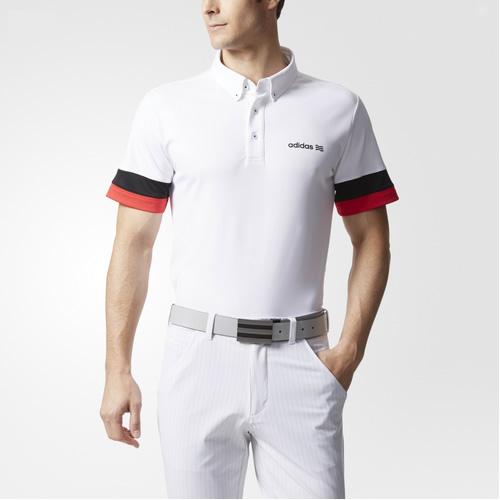 阿迪达斯BC3144男子高尔夫短袖Polo衫