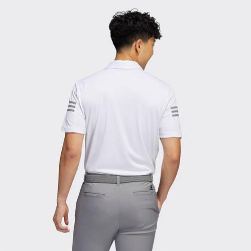 阿迪达斯BC3138男子高尔夫短袖Polo衫