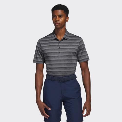 阿迪达斯BC1725男子高尔夫短袖Polo衫