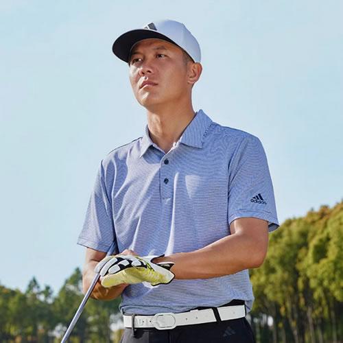 阿迪达斯BC5631男子高尔夫短袖Polo衫