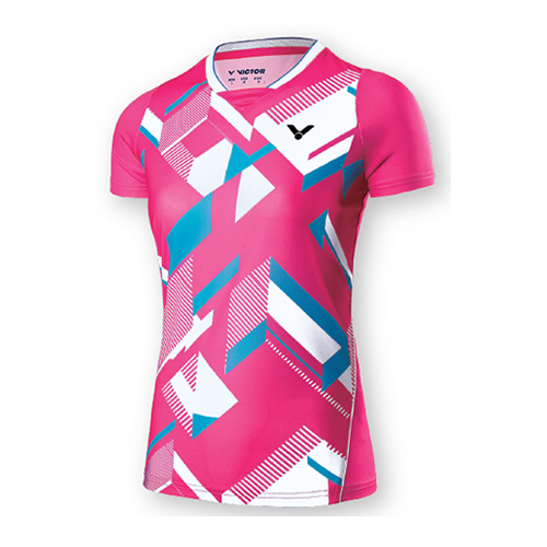 胜利T-71006羽毛球针织T恤
