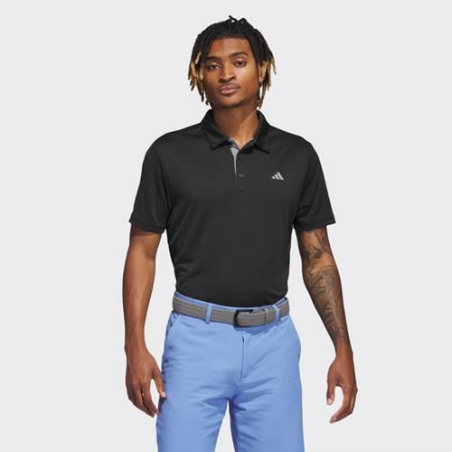 阿迪达斯AF0743男子高尔夫长袖polo衫