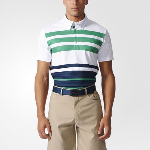 阿迪达斯AF0773男子高尔夫短袖polo衫