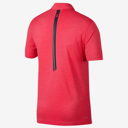 耐克TW Dry Blur Stripe男子高尔夫翻领T恤图3高清图片