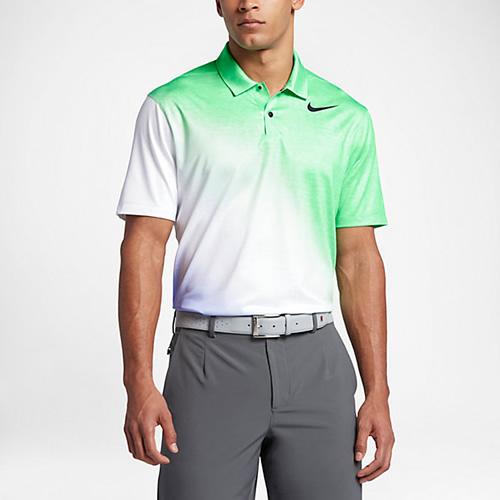耐克TW Color男子高尔夫翻领T恤