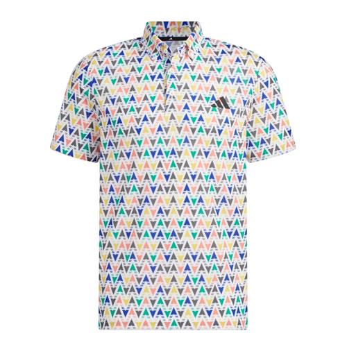 耐克Mobility Speed Stripe男子高尔夫翻领T恤图1高清图片