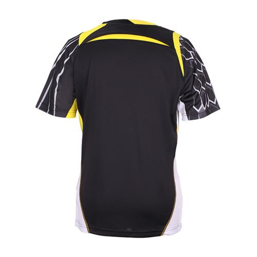 胜利T-5002羽毛球针织短袖圆领T恤图1高清图片