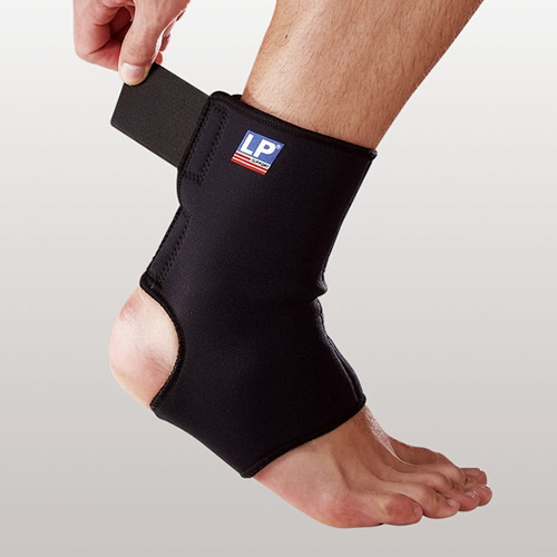 欧比764高筒跟腱开放可调式护踝高清图片