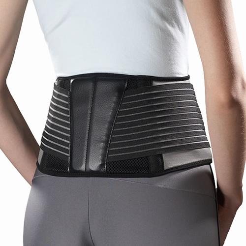 欧比575奈米竹炭可调式支撑腰带